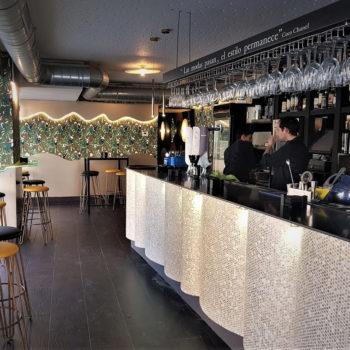Diseño interior restaurante Noa
